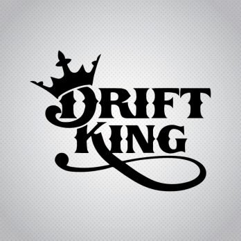 Pegatina Drift King Corona