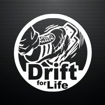 Pegatina Drift For Life