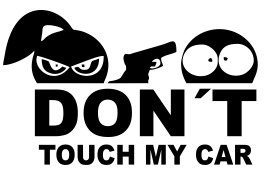 don´t touch my car emoji