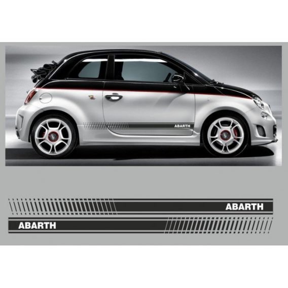 laterales Abarth